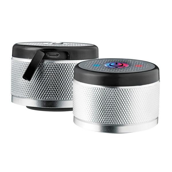 Bluetooth speaker in lid