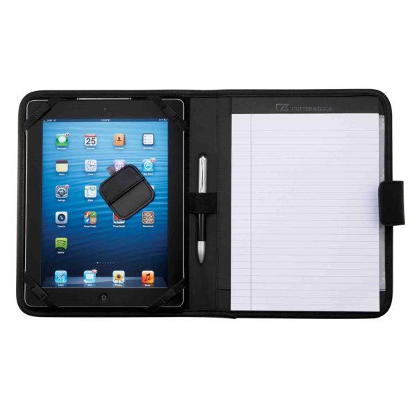 Adjustable Brackets hold iPad/Tablet