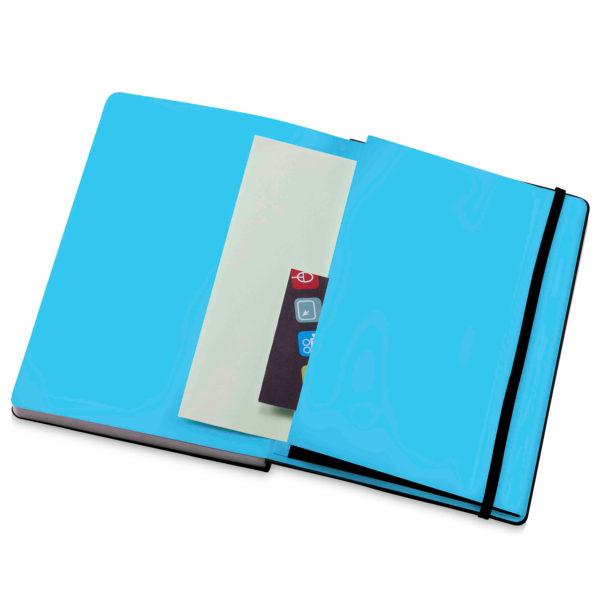 Notebook open - Back pocket