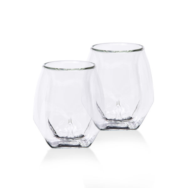 Double Walled Whisky Glasses