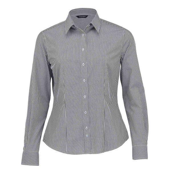 womens-the-kingston-check-shirt-black_white
